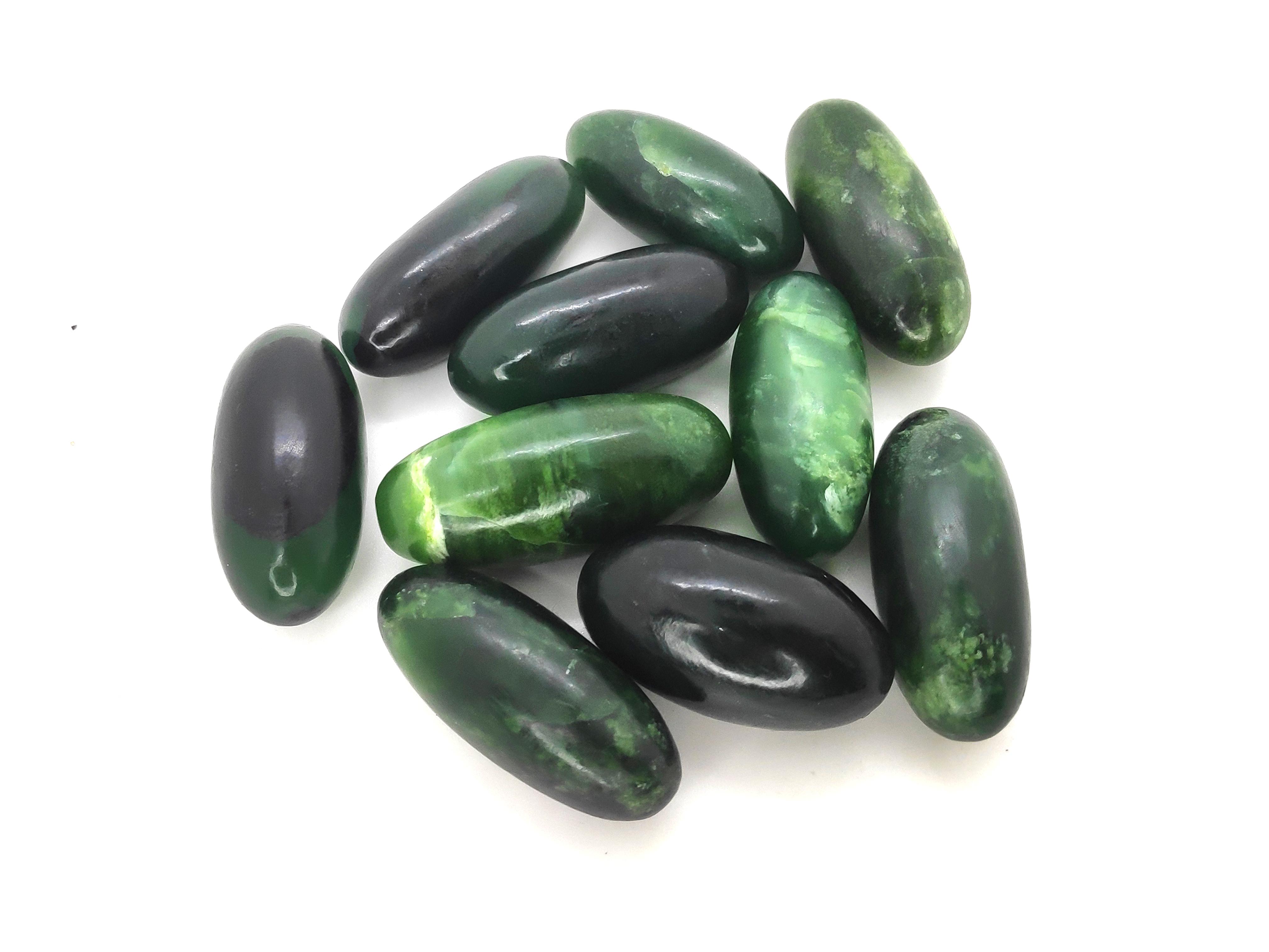 Green Serpentine Lingam