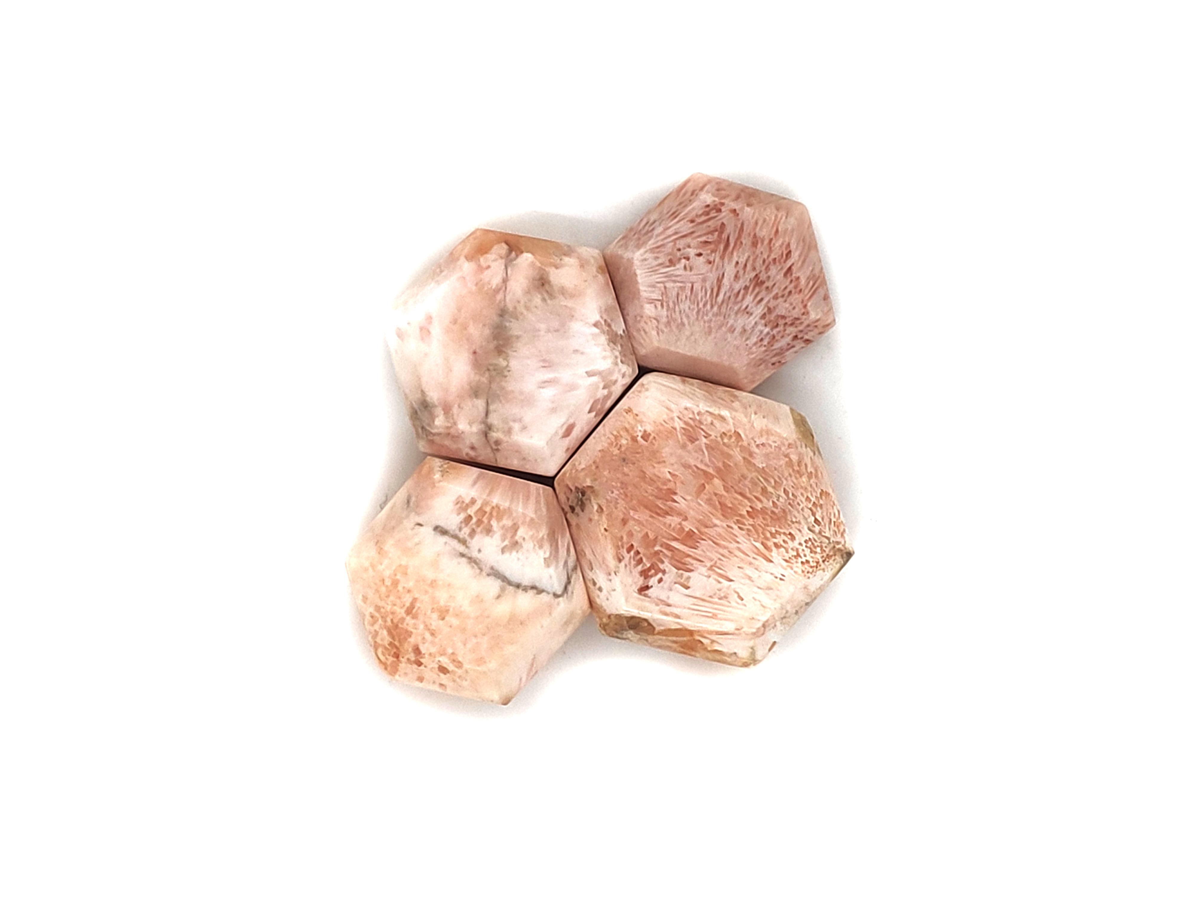 Pink Scolocite Hexa