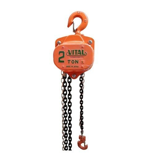 Vital Manual Chain Block Hoist 2 TON