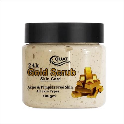 100 GM Quat 24K Gold Skin Scrub