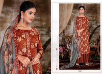 Designer Cotton Digital Print Salwar Suit