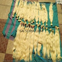 100% Natural Blond Human Hair Extension