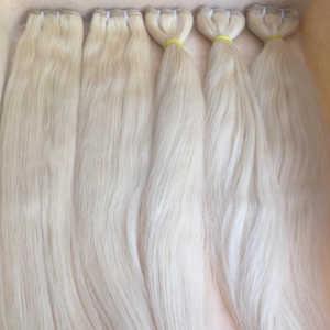 100% Natural Blond Human Hair Extension