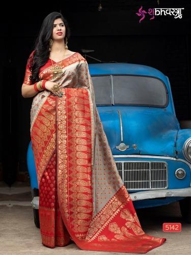 Beautiful Banarasi Silk Saree
