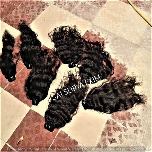 100% Unprocessed Deep Wavy Human Hair