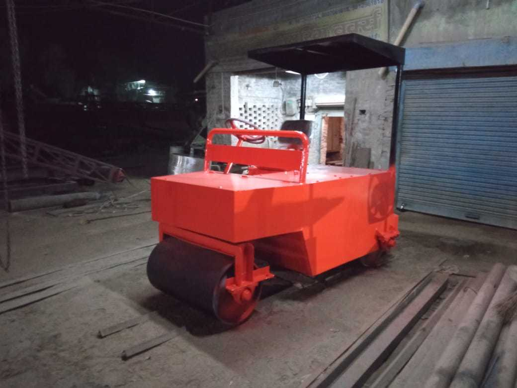Electric Cricket Pitch Roller 1.5 Ton