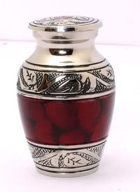 Brass Classic Keepsake Urn For Ashes