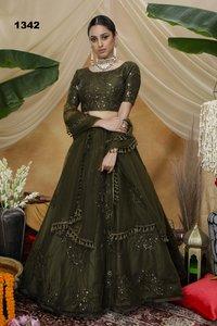 Exclusive Net Lehenga Choli Collection 1