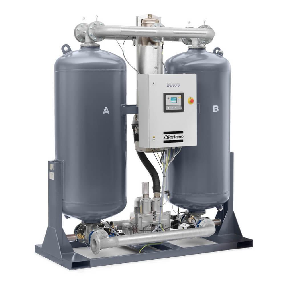 Heatless Desiccant Air Dryer