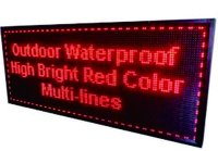 P10 Single Colour LED Board