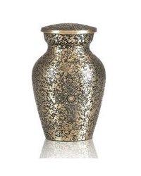 Brass Celtic keepsake Urn