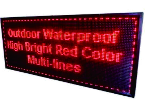 Multi Line Display Board