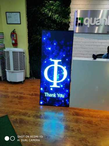 Moveable LED Standee
