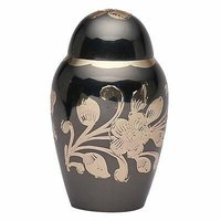 Black Domtop Urn