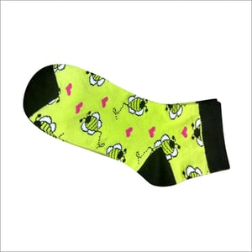 Womens Printed Ankle Socks