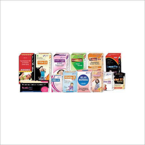 Duplex Pharma Packaging Box