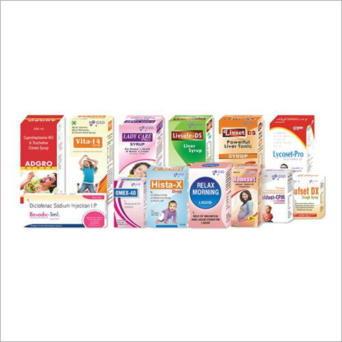 Printed Pharma Packaging Box