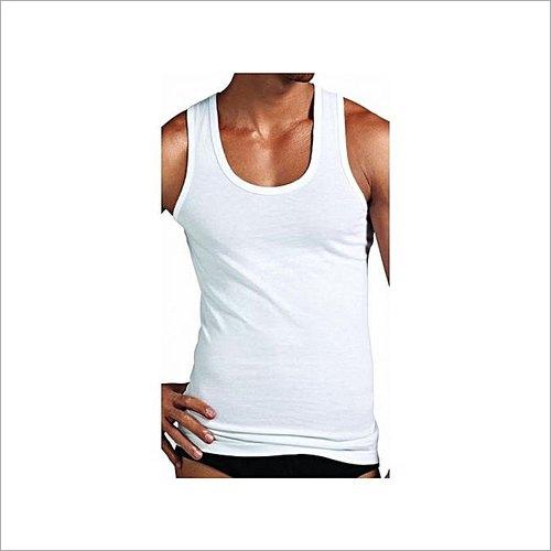 Century Mens White Cotton Vest