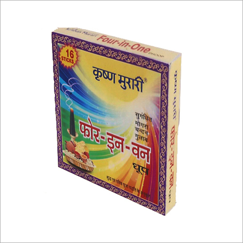 Incense Stick Packaging Box