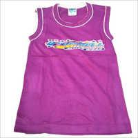 Kids Sleeveless Printed T Shirt