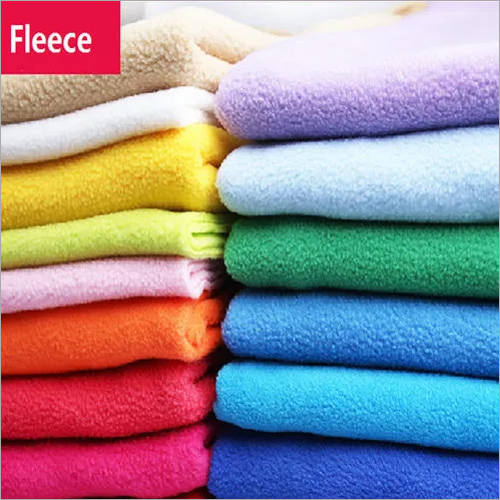 Colored Fleece Fabric