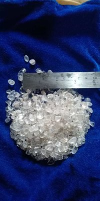 precious stone crystal clear quartz polished stone chips for decoration