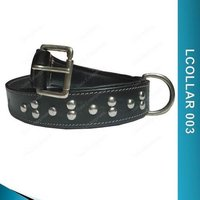 Black Dog Collar - Lcollar 003