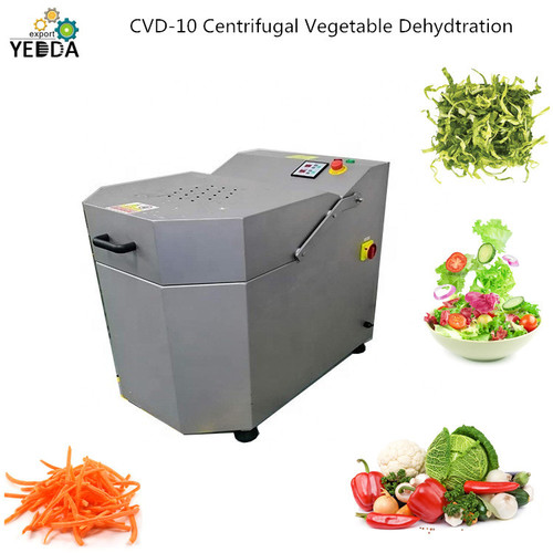 Centrifugal carrot shred dehydration machine lettuce dewater machine