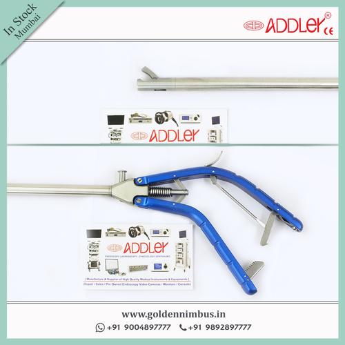 Addler Laparoscopic Straight V Type Needle-holder
