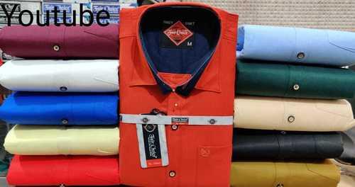 Red plain Shirt