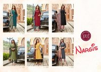 Nargis Pure Viscose Muslin Kurtis With Bottom Dupatta