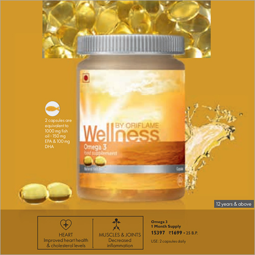 Omega 3 Food Supplement