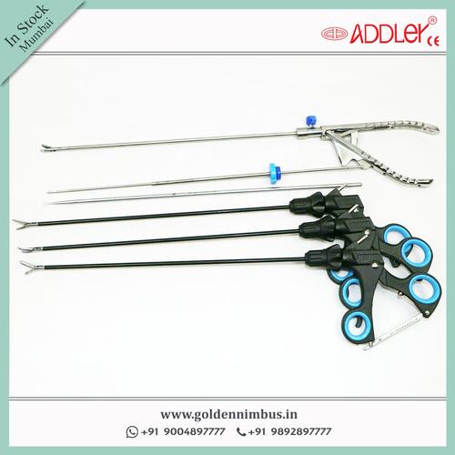 Addler Laparoscopic Instruments Endoscopic 5mm Grasper With Handle