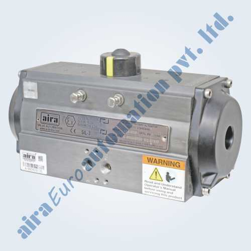 Double Acting Pneumatic Rotary Rack & Pinion Actuator