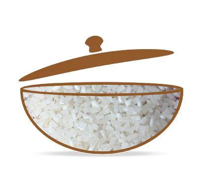 100% Broken Raw White Rice