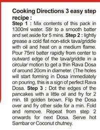 Rava Dosa Instant Mix
