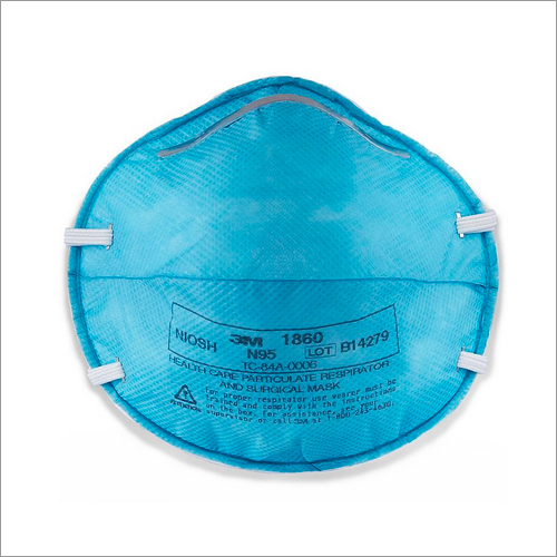 3M 1860 - N95 Health Care Particulate Respirator and Surgical Face Mask