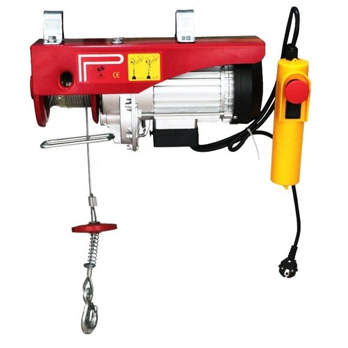 Mini electric Rope hoist Capacity 1200KG Lifting Height 10/20Mtrs