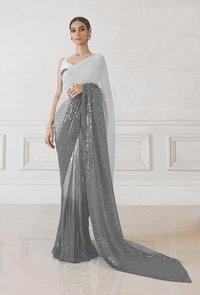 fency work saree