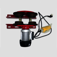 Hoist Electric Beam Geared Trolley for Lifting Chain/hoist Block Capacity 1000kg