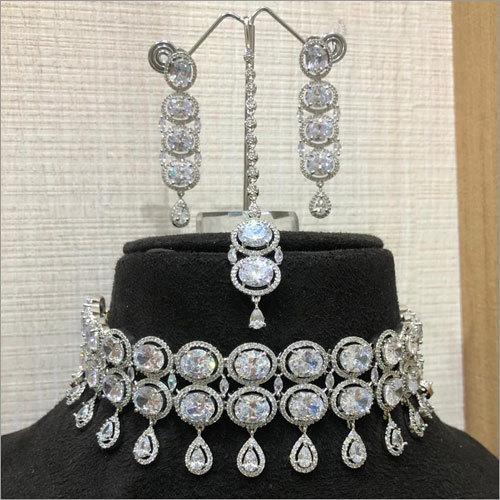 Ladies Big Diamond Necklace