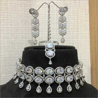 Ladies Big Diamond Necklace