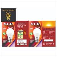 9W White LED Bulb