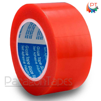 160 Mic Red Polyester Tape