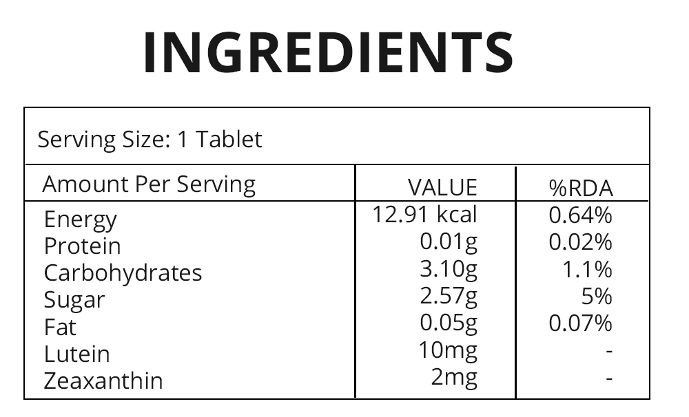 Lutein Tablets