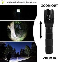 Diamond Super Bright LED Flashlight Torch (Rechargeable)