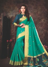 Shantipuri Handloom Party Wear Silk Sarees
