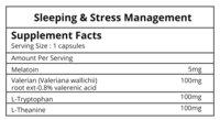 Sleeping & Stress Management
