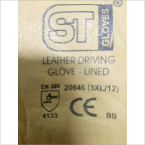 Pure Leather Driving Gloves