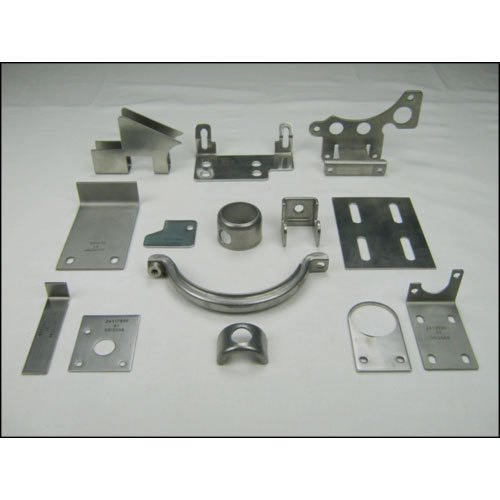 Silver Stainless Steel Sheet Metal Parts